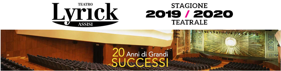 Stagione teatrale Lyryck 2019-2020
